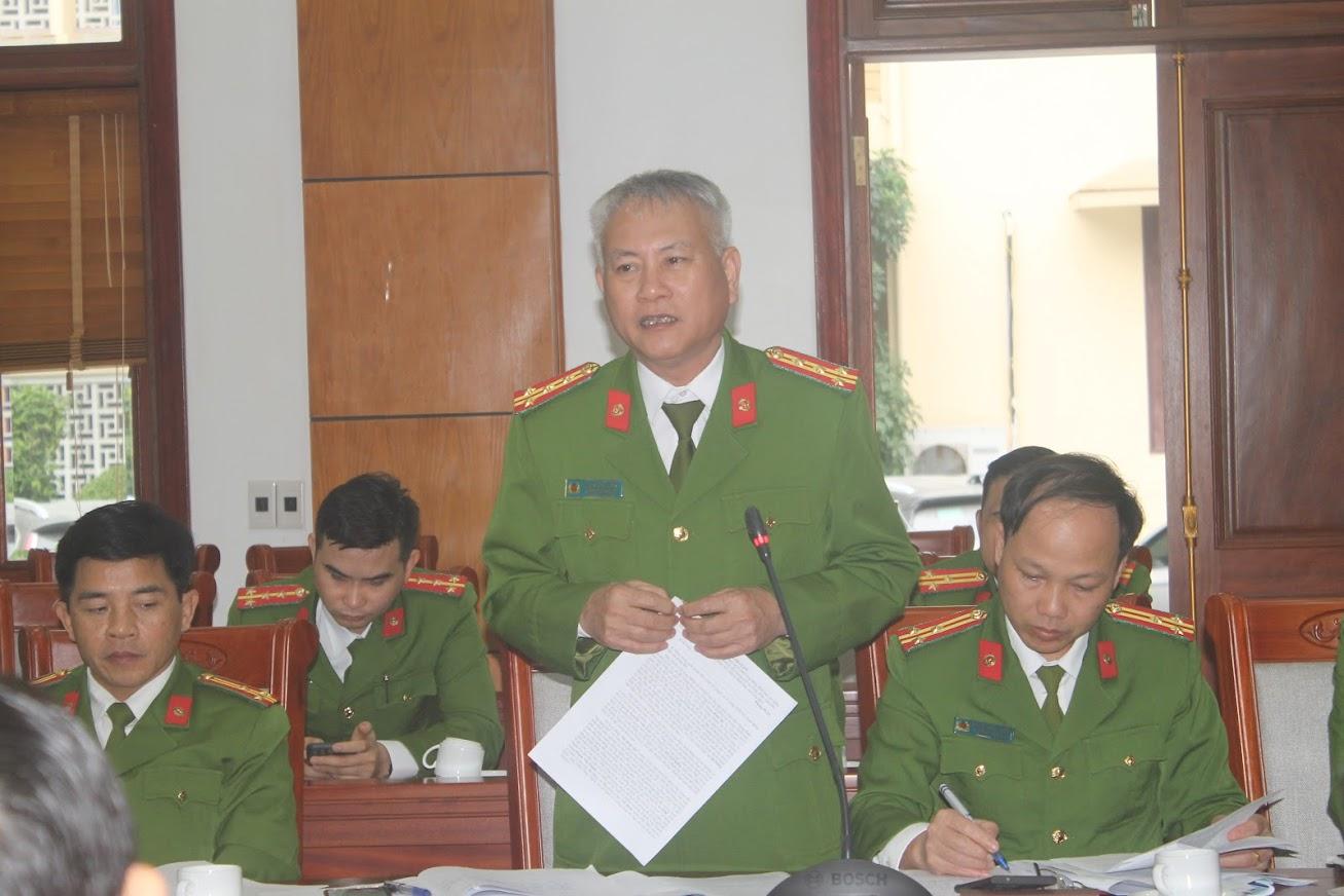 Đại tá Phạm Hoài Nam, Trưởng phòng Cảnh sát hình sự dự báo tình hình tội phạm trong thời gian tới