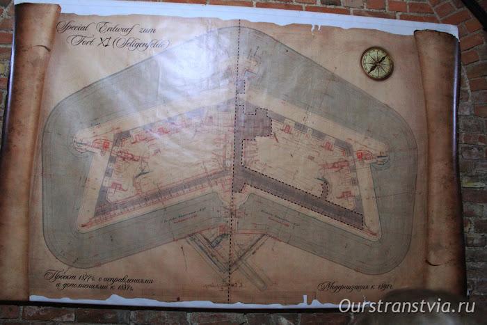 План сооружения 11 форта