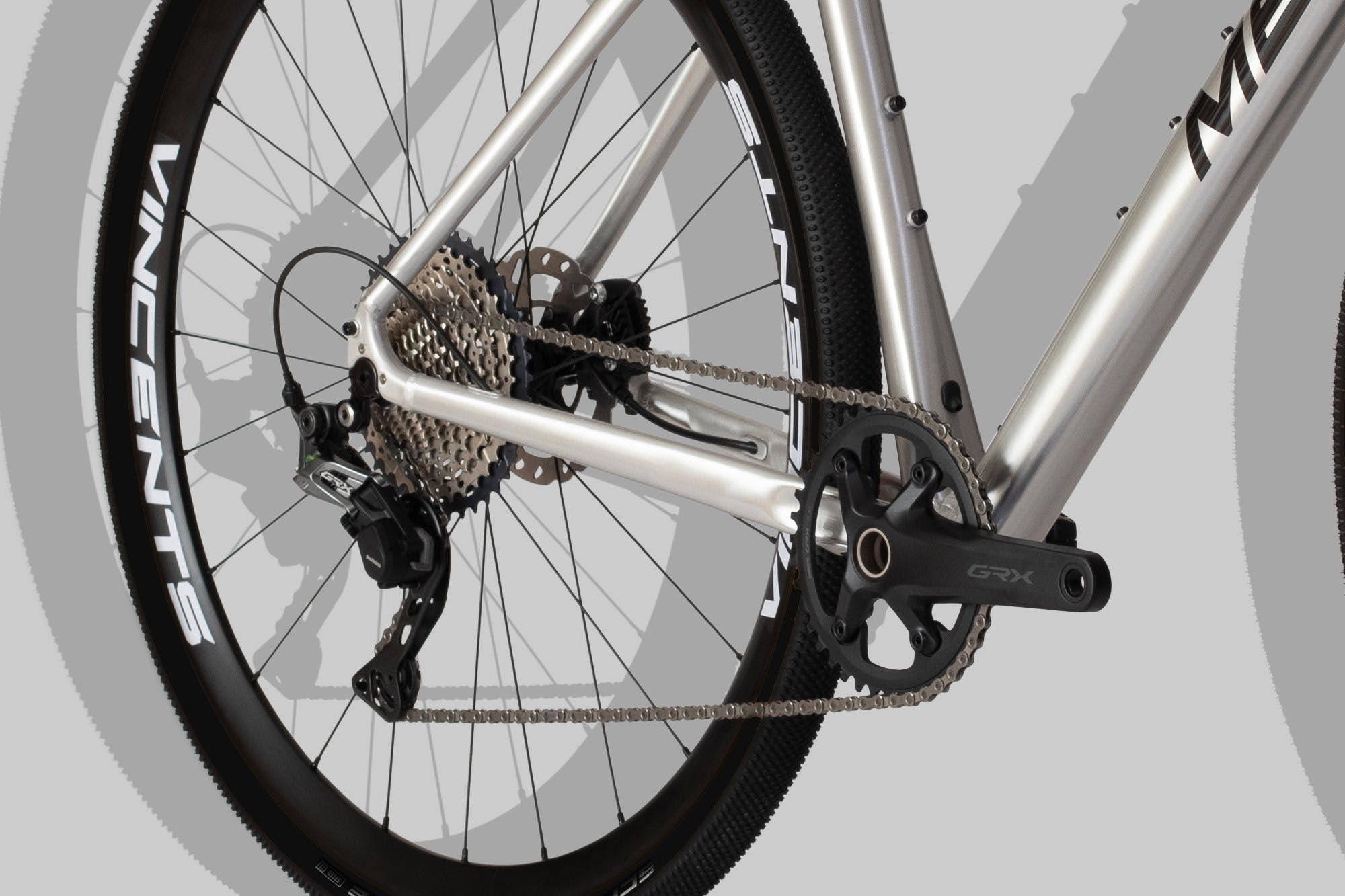 MB31 Gruscykel med Shimano GRX växlar