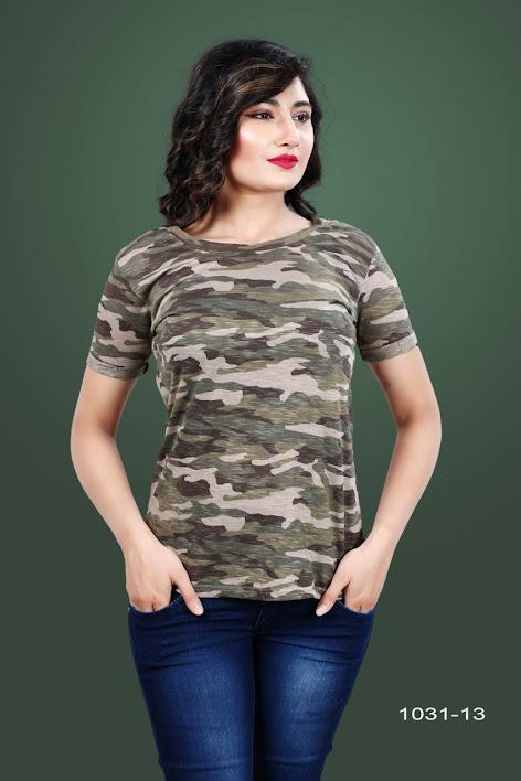 Gati 1031 13 Kavya Girls Tshirt Manufacturer Wholesaler