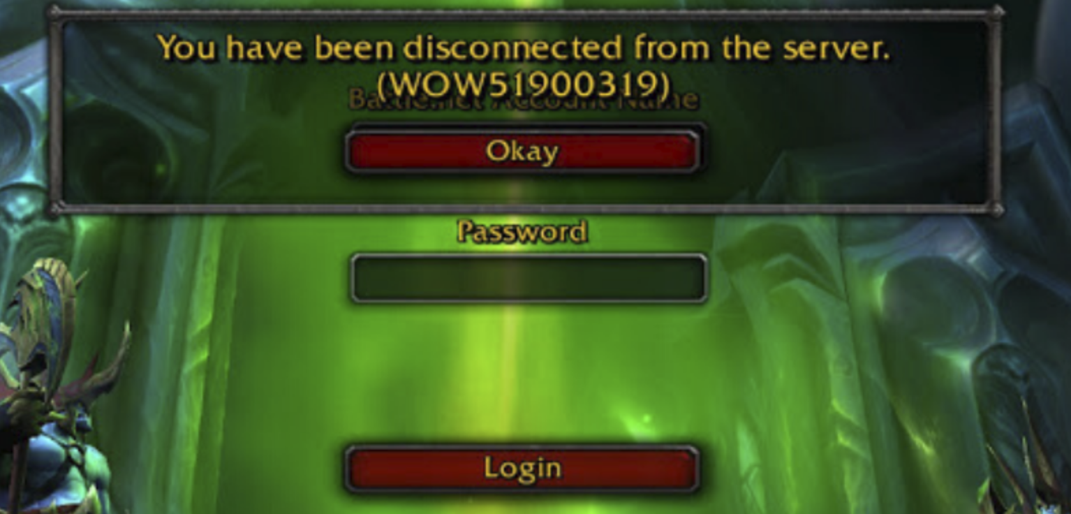 Disconnected been wow have you you have