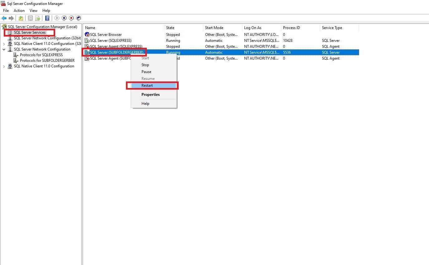 Cách Tạo Subfolder Gerber Accumark V10-V11-V12-V13 Sử Dụng SQL Server 29