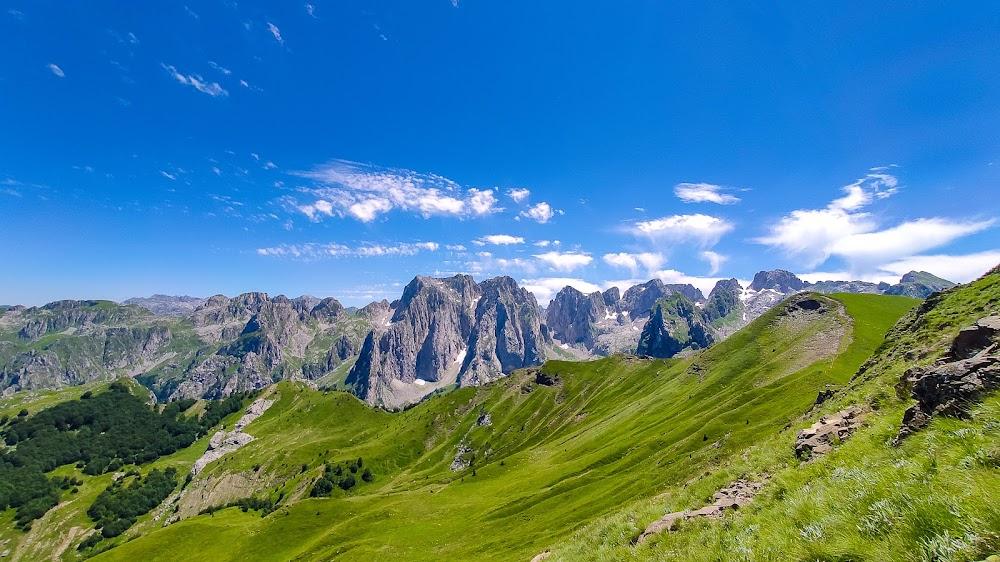 The Peaks of the Balkans - хайкинг в национальном парке Проклетие (Черногория, Албания, Косово) июль 2020