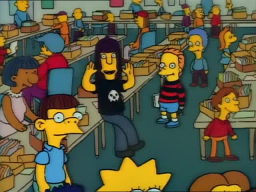 Los Simpsons 2x21 Tres Hombres y una Historieta