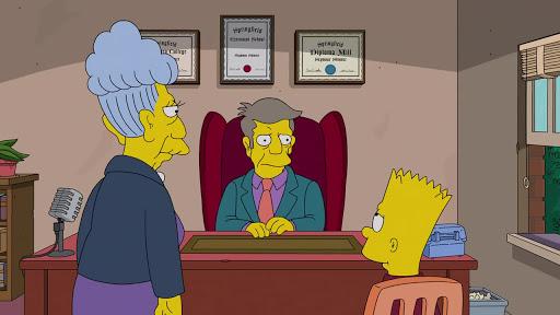 Los Simpsons 28x19 El buen Bart