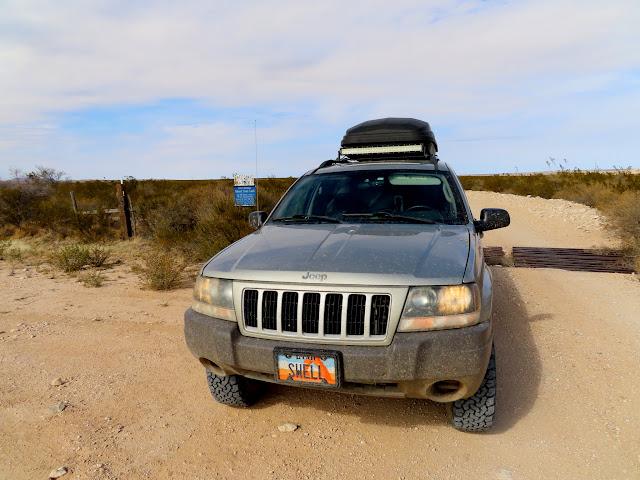 Crossing into Texas