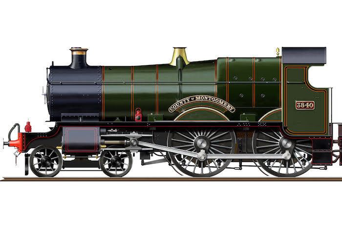 Replica steam engine to be named after county