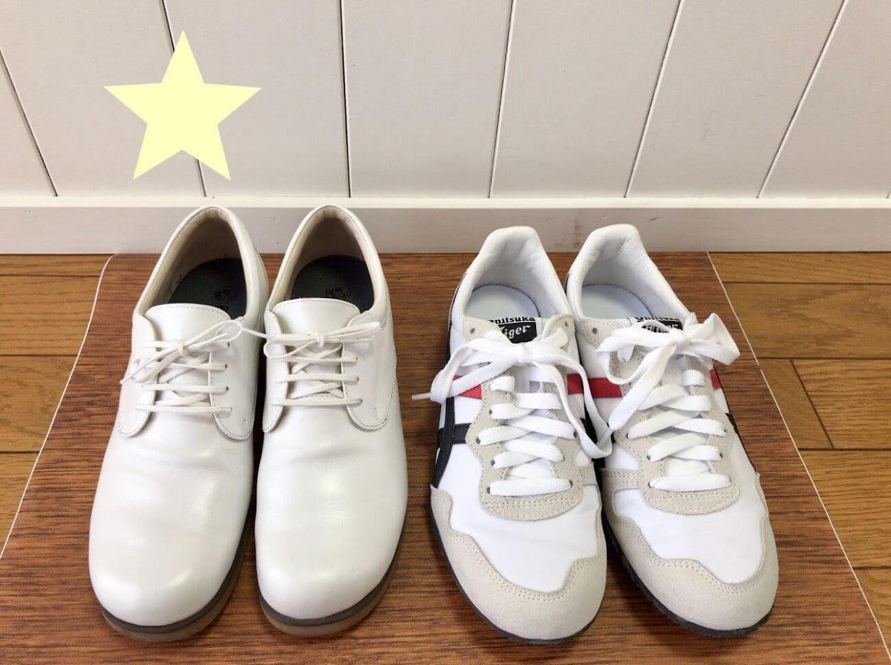 ワイズAの靴とセラーノ