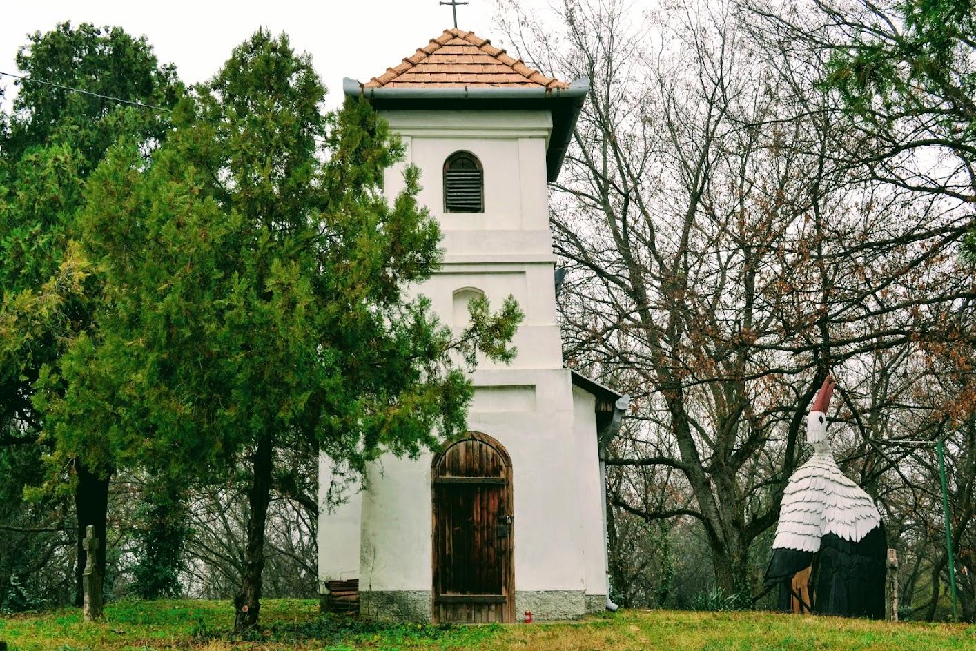 Szent István-kápolna, Dunakeszi, Kegyeleti park