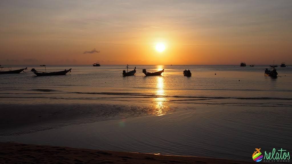 Atardecer Sairee Beach