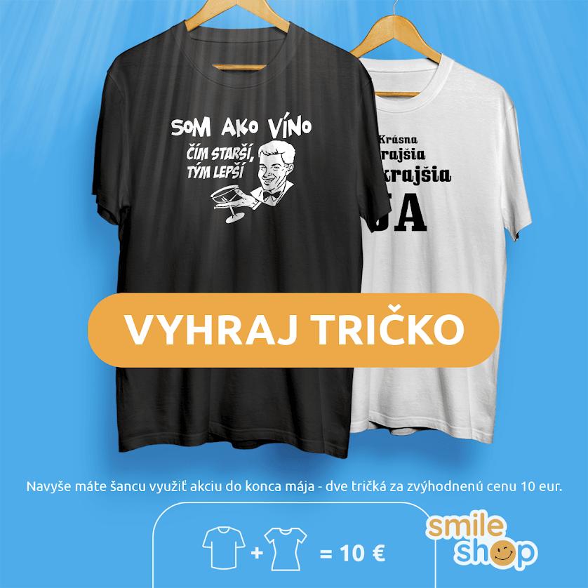 Humorné tričká