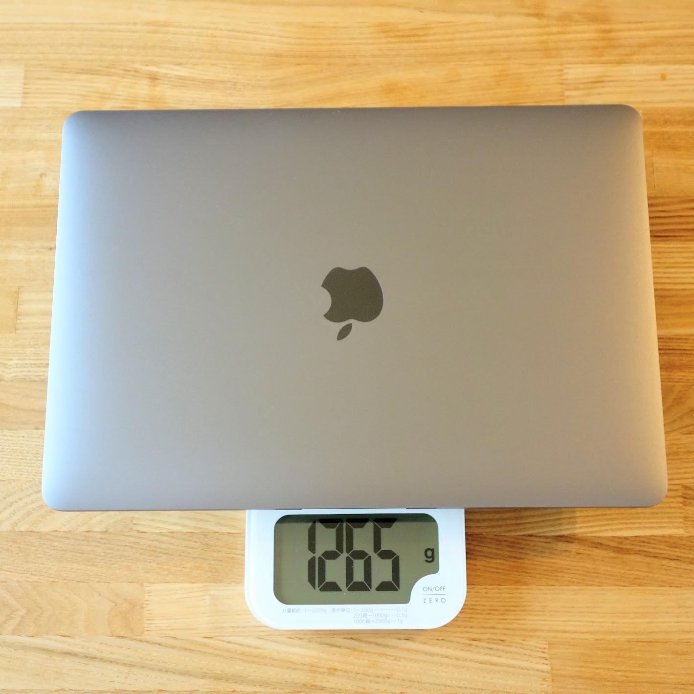 MacBook Air 2020重量
