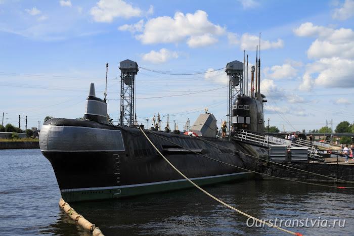 Музей Мирового океана в Калининграде, подводная лодка Б413