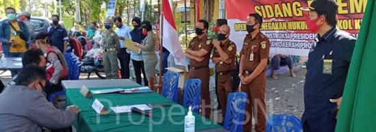 Satpol PP kabupaten Ngawi Jawa timur
