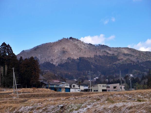 冬の神行堂山(2013.2)
