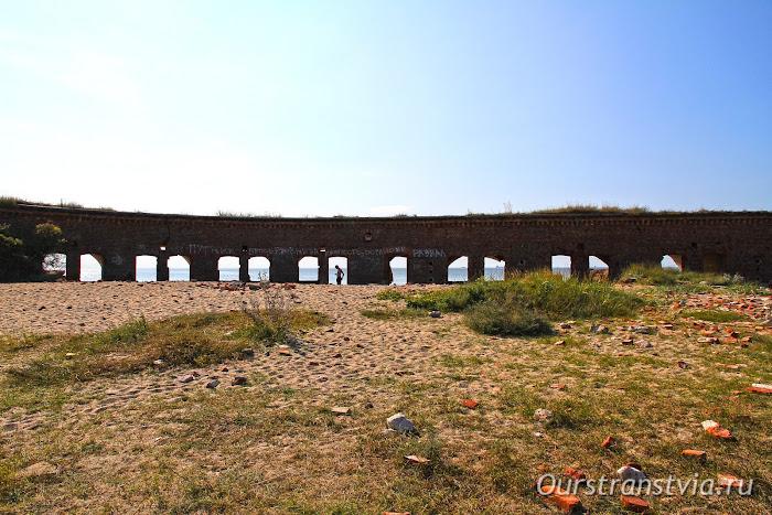 Что посмотреть на балтийское косе - форт Западный