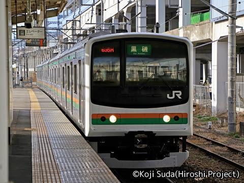 JR東日本 205系 東北本線仕様 那須塩原にて