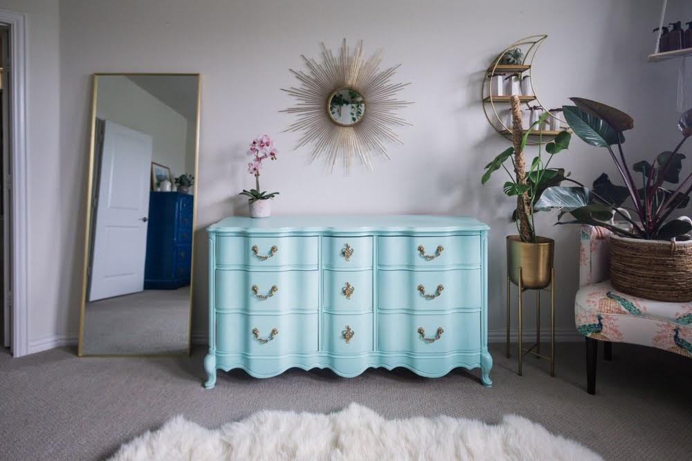 Jessica's dresser