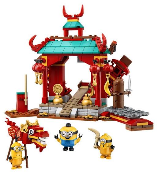 Contenido de LEGO® 75550 Duelo de Kung-fu de los Minions