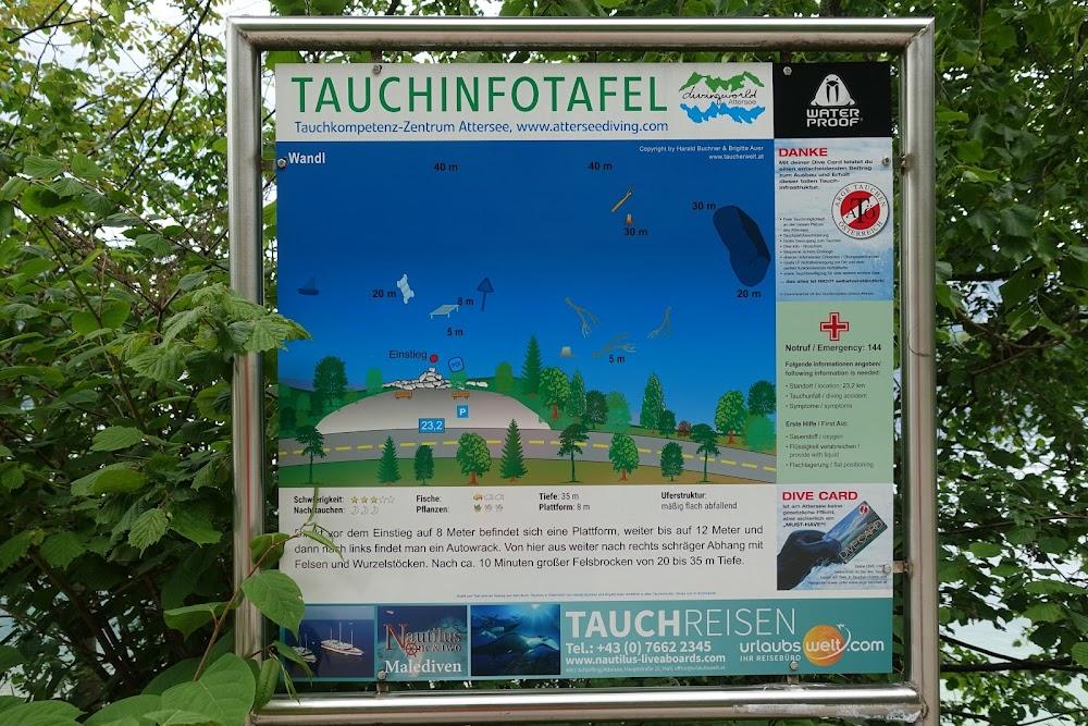 Дайвинг в австрийских озёрах