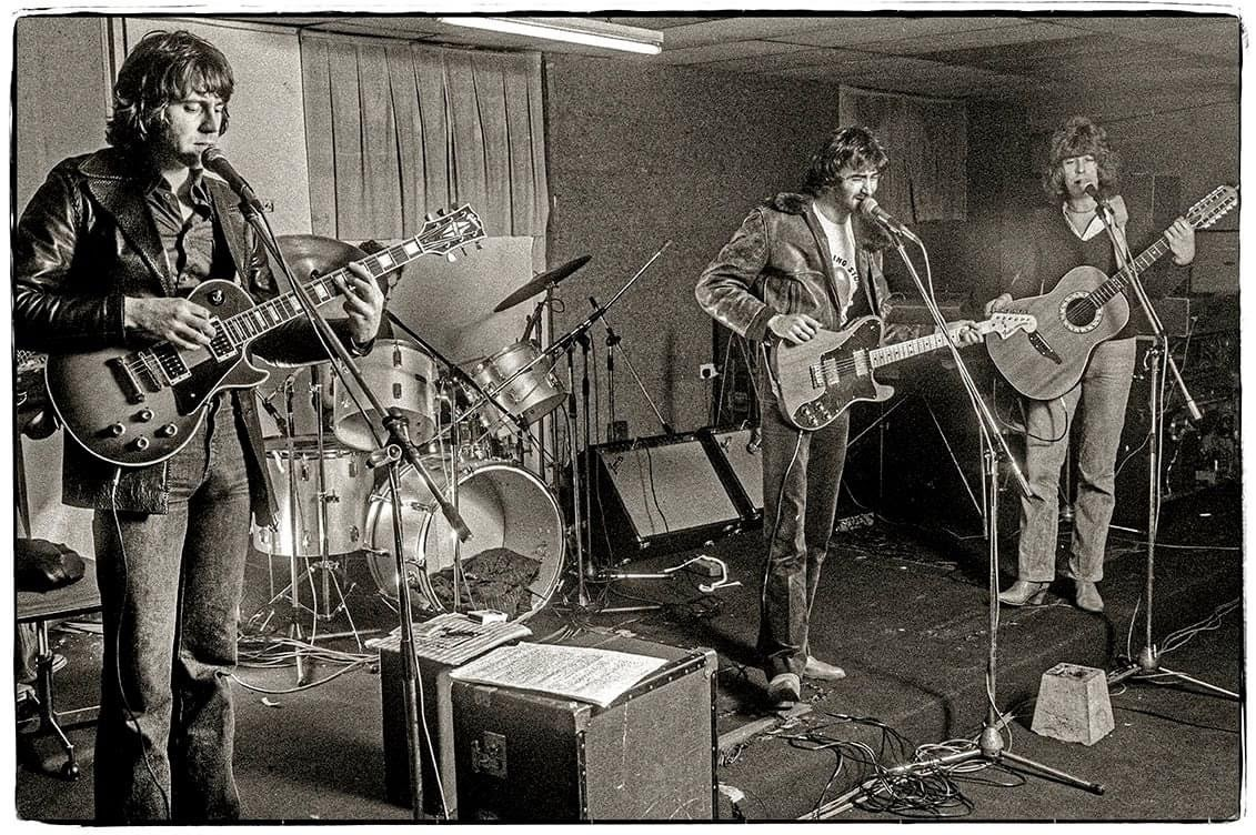 The Roundhouse rehearsal rooms, Chalk Farm, London - 1978