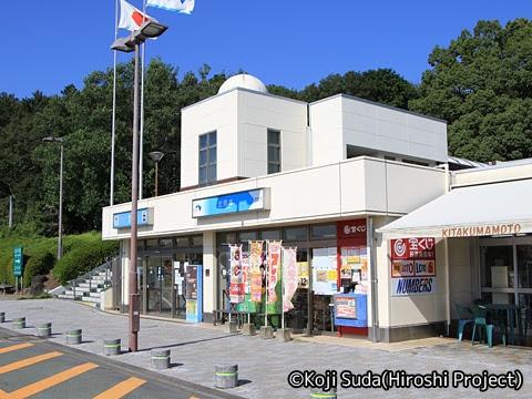 西鉄「桜島号」 3137 北熊本SA_02