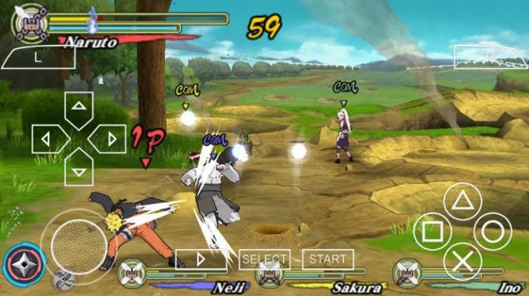 Naruto Shippuden Ultimate Ninja Heroes