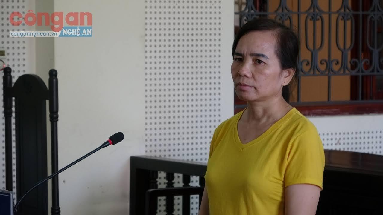 Bị cáo Lộc Thị Mai