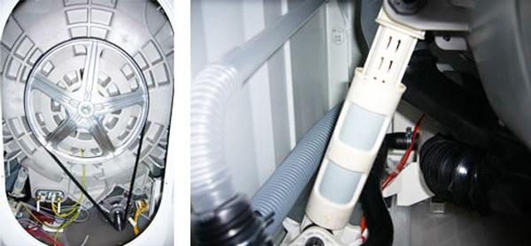 bộ giảm xóc của máy giặt Electrolux EWN 14991 W