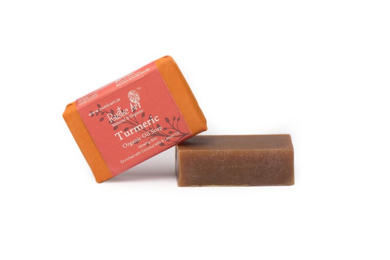 Rustic Art Turmeric Soap