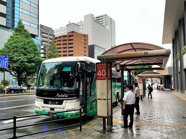 フォレスト号仙台行 仙台駅前40番のりば到着