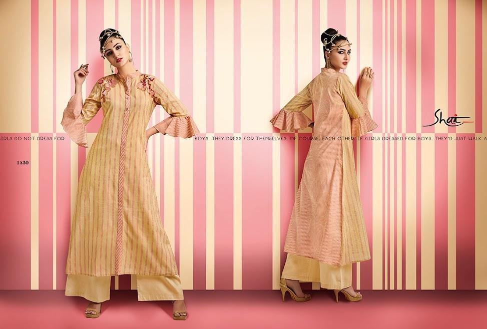 Gloom Shai Designer Long Kurtis Manufacturer Wholesaler