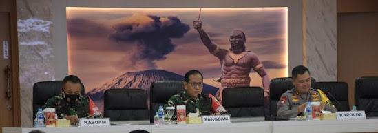 Pangdam v/brawijaya Operasi Yustisi