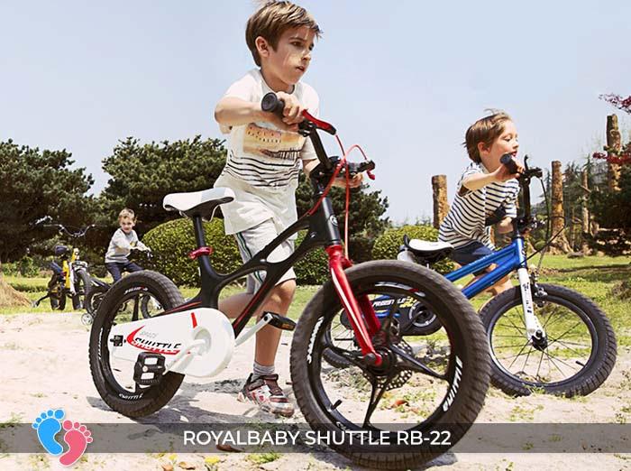 Xe đạp trẻ em Royal Baby Shuttle RB-B22 12