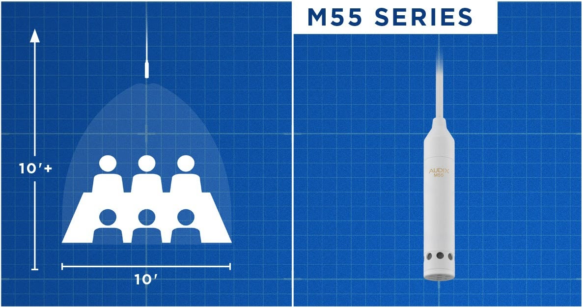 M55 Series HANGING CEILING MICROPHONE
