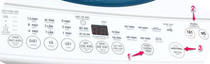 cách sử dụng chế độ vệ sinh lồng giặt