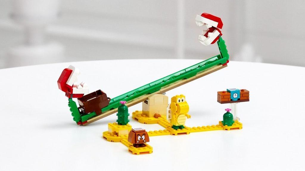 レゴ®スーパーマリオ パックンフラワーの バランス チャレンジ