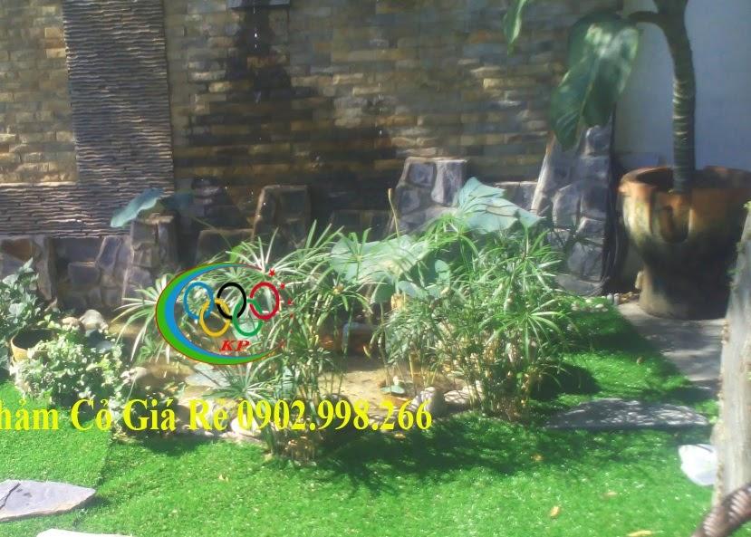 Lo âu chỗ chơi đùa khi lắp đặt Thảm cỏ nhựa sân vườn là Không còn