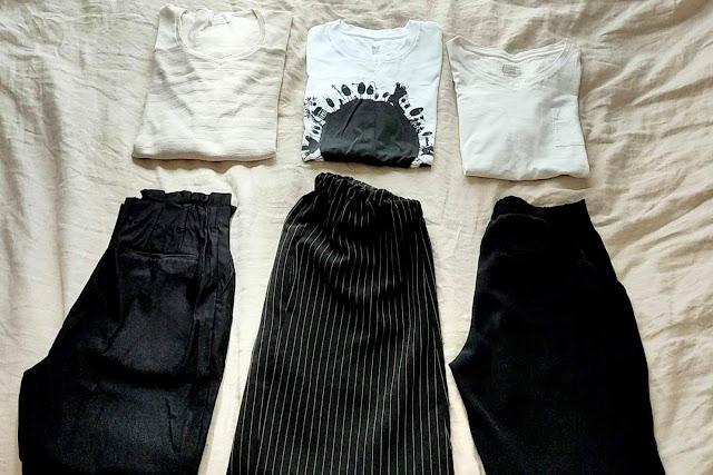 今夏着た服は6枚、お気に入りはたった3枚でした。