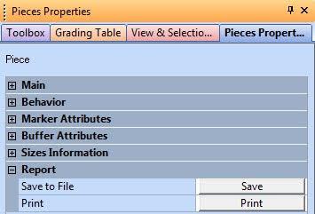 Piece Properties Trong Optitex 6