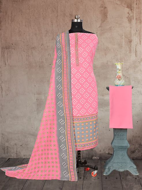Bipson Prints Cotton Queen 1433 Salwar Suits Catalog Lowest Price