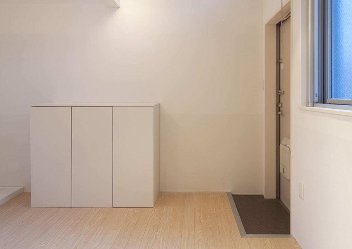 玄関・シューズボックスの別角度