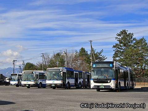 JRバス関東 白河支店 新旧連節バス撮影ツアー_14
