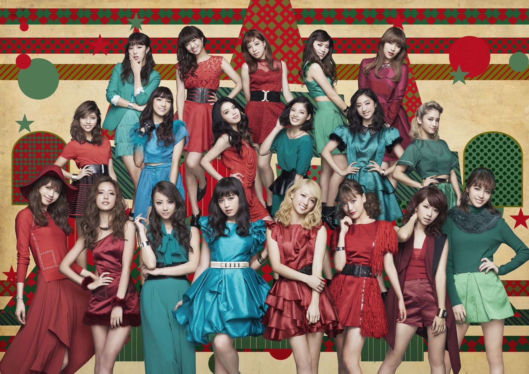 "Imagem promocional do single ""Merry × Merry Xmas★""."