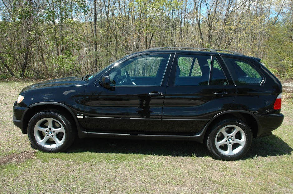 2002 BMW X5 Black