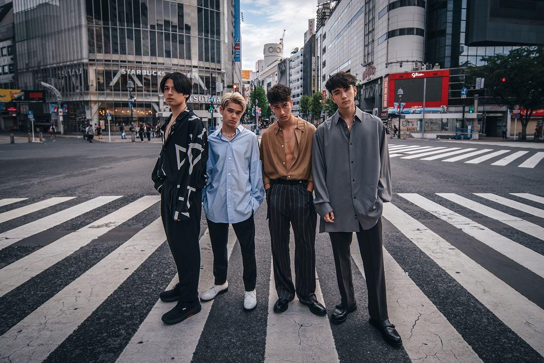 日美混血男子團體 INTERSECTION 將在線上舉辦世界巡迴粉絲見面會!