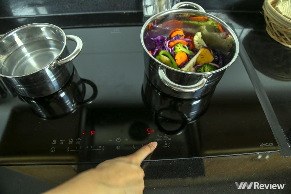 Bếp từ Electrolux EHI7280BA được trag bị 4 chế độ nấu