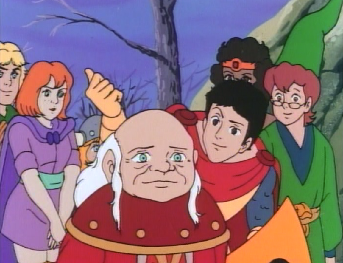 The party behind Dungeon Master