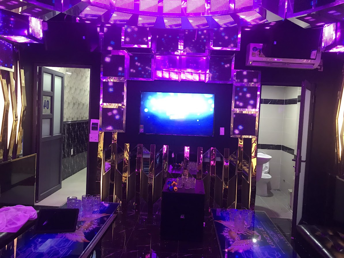 Công trình thi công âm thanh karaoke chuyên nghiệp tại Karaoke Jet 2 Long Thành
