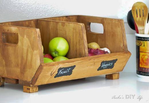 thiết kế cửa hàng rau quả sạch